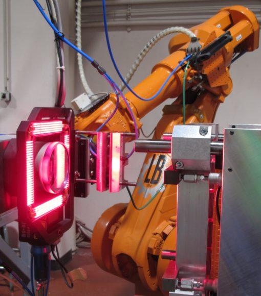 Soudage laser d'aluminium avec robot et tête scanner