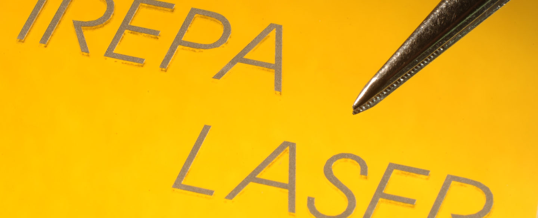 Métallisation laser sur verre